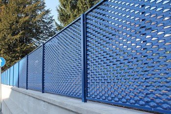 Expanded Metal Mesh Fence Barristers