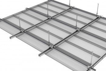 Expanded Metal Mesh Suspended Ceiling