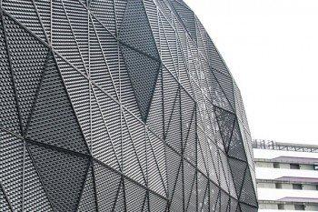 Expanded Metal Mesh Facade